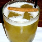 House-spiced Brugal rum with bergamot and cinnamon (photo credit: Kristan Lawson)