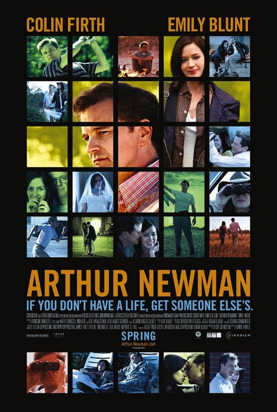 arthur newman movie poster Arthur Newman   Movie Review