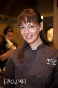 Chef Jennifer Puccio (Photo credit: Tubay Yabut Photography)