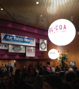 colcoa2013entrance 266x300 It Happened in Saint Tropez premiere night at the Renoir Theatre