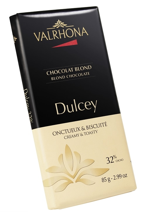 "dulcey Valrhona Introduces ""Blond"" Chocolate: Dulcey"