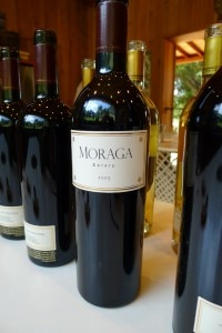 moraga 2005 red 200x300 Moraga Vineyards 2005 Red   Wine of the Week Review