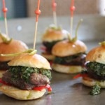 Juicy pork sliders from Bravas Bar de Tapas