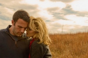 to the wonder ben affleck rachel mcadams 300x199 Ben Affleck and Rachel McAdams in To the Wonder