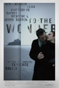 to the wonder movie poster 201x300 To the Wonder movie poster