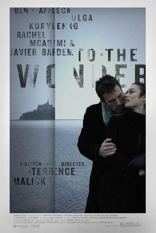 to the wonder movie poster To the Wonder Movie Review
