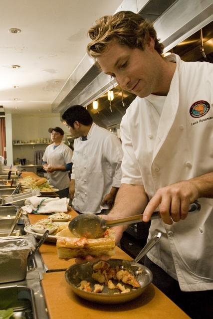 Lewis Rossman, executive chef of Sam's Chowder House