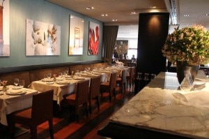 ai fiori restaurant1 300x199 The elegant Ai Fiori in NYC