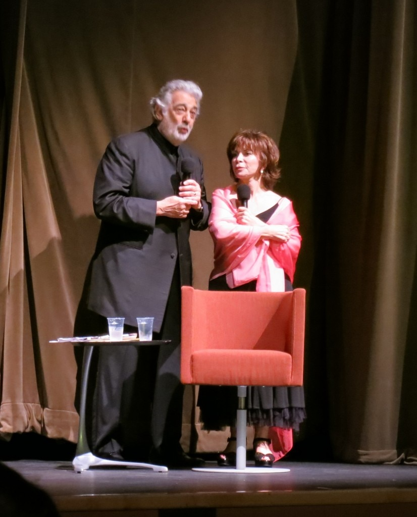 Isabel Allende - Placido Domingo
