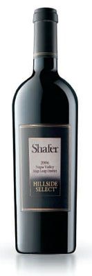 shafer hillside Shafer Vineyards 2006 Hillside Select Cabernet Sauvignon   Wine of the Week Review