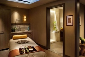 spa treatment room mandarin oriental sf 300x200 A spa treatment room  at the Mandarin Oriental, San Francisco