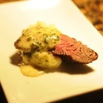 Chateaubriand with truffle mash and bearnaise