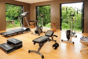 NyungweInteriors13 300x200 Fitness center at the Nyungwe Forest Lodge