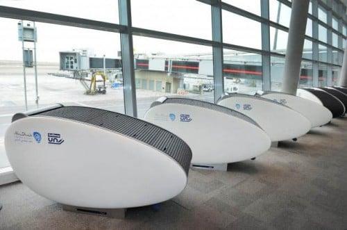 Abu Dhabi Airport GoSleep sleeping pods