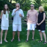 Farewell brunch introducing Auction Napa Valley 2014 chairs with William Harlan of Harlan Estate at Meadowood