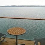 View from a balcony on the Celebrity Solstice