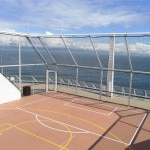 Basketball court on the Celebrity Solstice