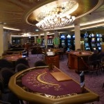 The casino on the Celebrity Solstice