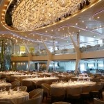 The Adam Tihany-designed Grand Epernay restaurant on the Celebrity Solstice
