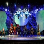 A performance in the theater on the Celebrity Solstice