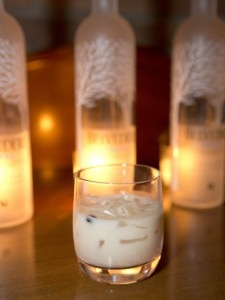 Cereal milk White Russian Belvedere Cocktail
