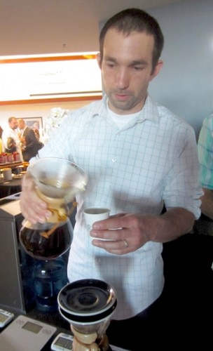 Chris Baca, Director of Training at Verve Coffee Roasters