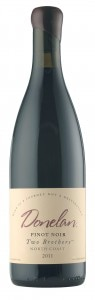 donelan pinot noir 95x300 Donelan 2011 Two Brothers Pinot Noir   Wine of the Week Review