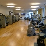 The fitness center at Loews Regency San Francisco