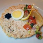 Salmon rillette at Grand Epernay restaurant on the Celebrity Solstice