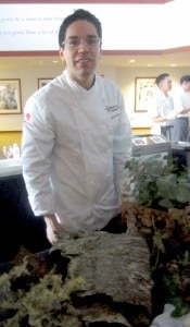 Juan Contreras, pastry chef at Atelier Crenn