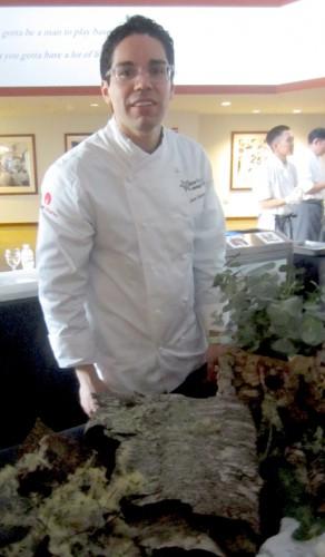 Juan Contreras, pastry chef at Atelier Crenn