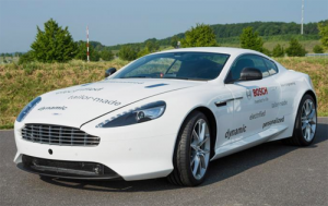 An Aston Martin DB9 Plug-In Hybrid Prototype