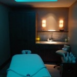 Spa treatment room at Loews Regency San Francisco
