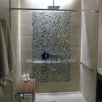 A spa shower at Loews Regency San Francisco