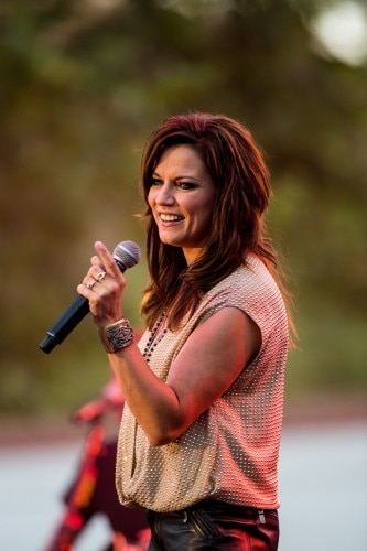 Country singer Martina McBride performs at  Wente Vineyards in Livermore, California
