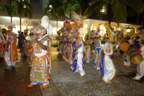 Junkanoo street parade celebrates the independence of The Bahamas