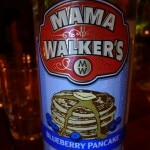 Mama Walker's Blueberry Pancake liqueur