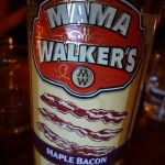 Mama Walker's Maple Bacon liqueur