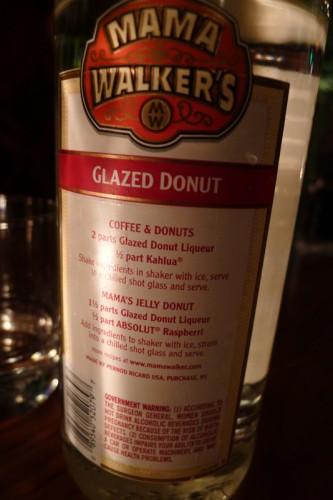 Mama Walker's Glazed Donut liqueur