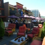 Comfortable seating at Savor the Summit in Park City, Utah