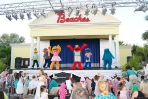 Sesame Street Stage Show at Beaches Turks and Caicos