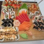 Sushi tray 150x150 Beaches Turks and Caicos   Hotel Review