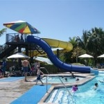 Guests enjoying the waterpark at Beaches Turks and Caicos