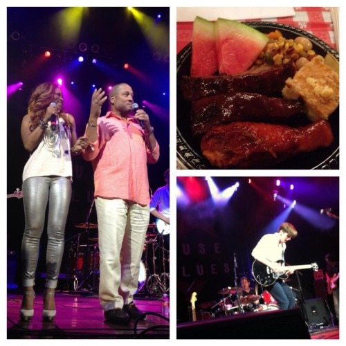 Festivities and food at the House of Blues at Showboat Atlantic City