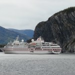 The Hanseatic near the spectacular geology of Gros Morne National Park