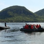 The Hanseatic features 14 Zodiac inflatable boats
