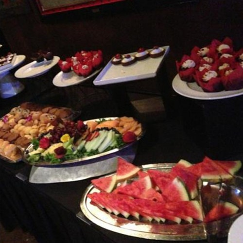 Dishes served at the House of Blues inside Showboat Atlantic City