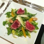 Salad as prepared by Rocco DiSpirito at Showboat Atlantic City