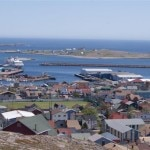 Town of St. Pierre et Miquelon, a stop on the Hanseatic cruise