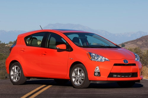 toyota prius c Toyota Offers Extended Test Drives with Rental Car Program